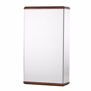 Image 4 - Aluminum Chassis Amplifier Case Wooden Side Panel Box Mini Enclosure DIY House