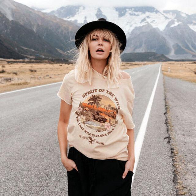 Spirit Of The Wild Boho T-Shirt