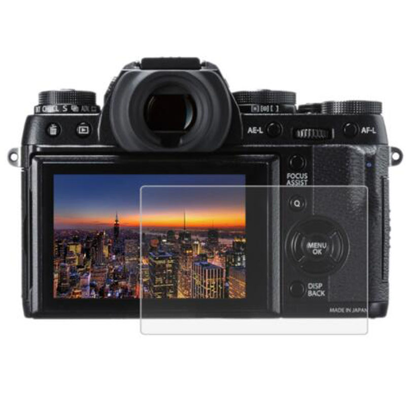 Tempered Glass Protector Film Cover For fujifilm X T1 X T2 X A3 X A5 X A10 X A20 XT1 XT2 XA3 XA5 XA10 XA20 Camera Screen Guard-in Camera LCD Screen from Consumer Electronics