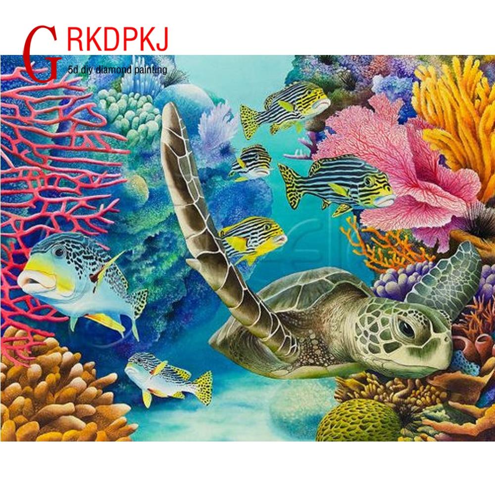 underwater painting easy - 736×563