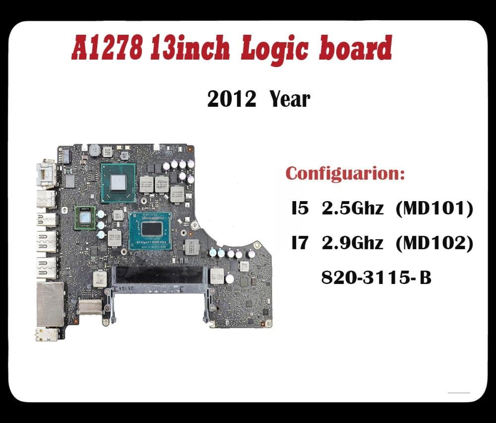 Apple Macbook Pro A1278 i5 2.5Ghz 2012 Logic Board 100/% Working