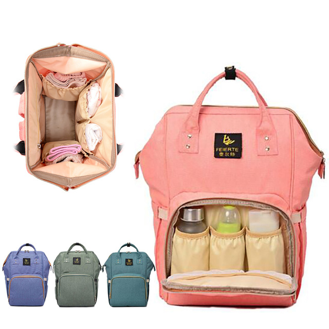 2018 New Organizer Mother Baby Handbags Diaper Bag Maternity Bags For Baby Stroller Bag Mummy Nappy Changing Backpack mummy diaper bag multifunctional baby diaper zipper backpack bags big pocket baby nappy changing bag organizer maternity bags