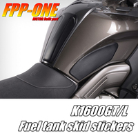 For BMW K1600GT K1600GTL Motorcycle Parts Fuel Tank Guard Slip Rubber Decal Sticker