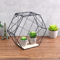 L/S Trellis/Twill Design Industrial Style Iron Metal Retro Wood Wall Shelf Holder Modern   Storage   Rack   Home     Office   Decor Smoothed