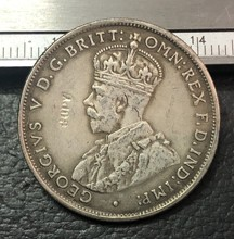 1917-M In Australia 1 Florin-George V Copia Coin(China)