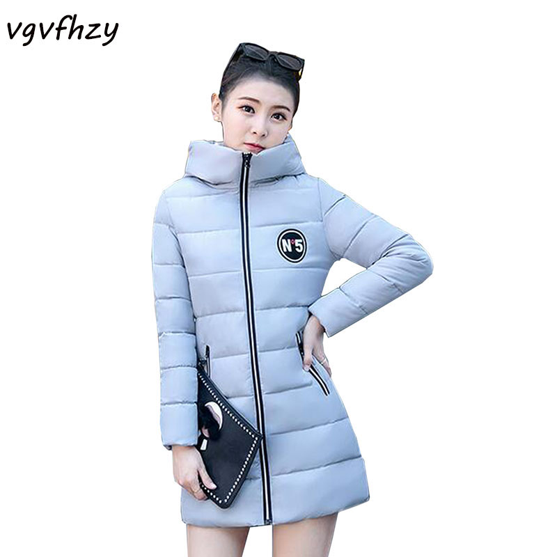 High Quality 2017 Winter Jacket Women Thick Warm Fashion Female Coat Women Winter Hooded Cotton Jacket Parkas Outwear LU499 fashion trend winter 2017 new women cotton long jacket hooded design thick warm women parkas coats high quality warm outwear