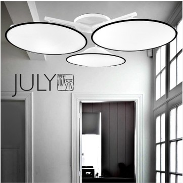 Scandinavian minimalist modern designer lamp ikea ceiling three