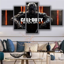 Canvas HD Print Painting Wall Art 5 Pieces Black Ops 4 Call Duty Game Pictures Modular Abstract Poster Living Room Decor