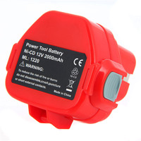 1 Pc Rechargeable Battery For Makita 12V PA12 2000mAh Ni CD Replacement Power Tool Battery For