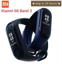 Origina Xiaomi Mi Band 3 Smart Bracelet Heart Rate Monitor Bluetooth 4.2 Wristband Heart Rate Touch Time Screen OLED Smartband цена 2017