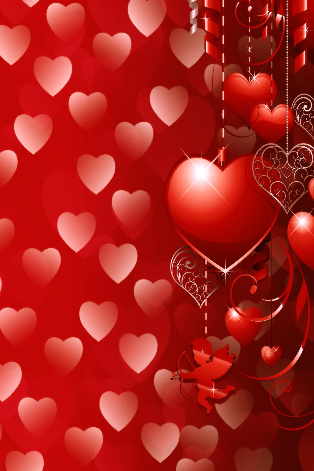 Background 600Cm*300Cm Valentine'S Day Photography Backdrops Red Love Cupid Zj christmas backdrop 600cm 300cm valentine s day photography backdrops romantic love fireworks zj
