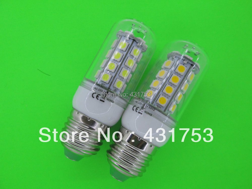 2014 Hot Sale Freeshipping Chandelier New 85v-265v/ac E27 5050 Led Corn Bulb Light Lamp 360 Degree / Warm ( High Brightness )