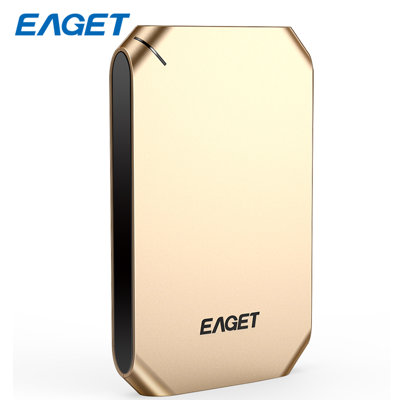 EAGET Portable External Hard Drive 500GB HDD 2.5 USB 3.0 Hard Disk 1TB Encrypted HD External Storage Devices For Laptop Desktop yoc 5psc lot eaget g30 1tb ultra fast usb 3 0 external portable hard drive