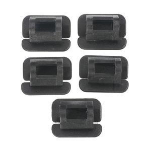 Image 4 - 5 Pcs for Volvo S80 S80L S60 Car Plastic Fasteners Hood Cotton Insulation Hoop Lining Clips Buckle