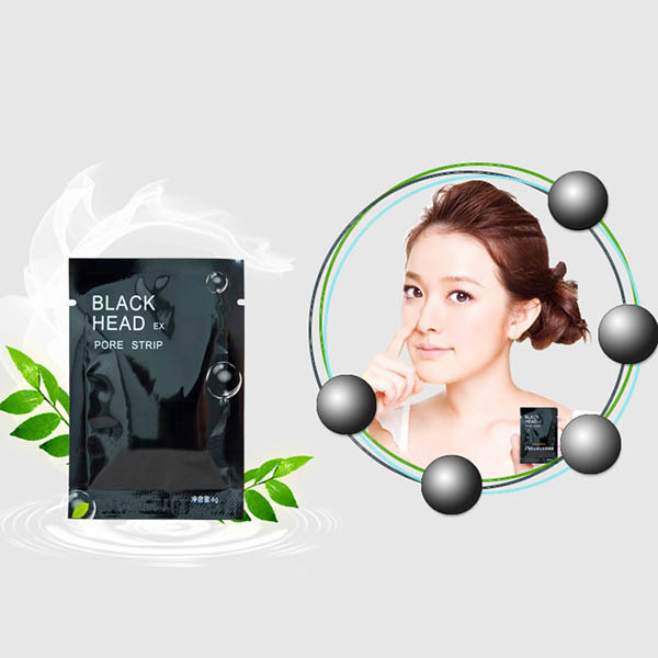 7pcs/package Mineral Mud Nose Blackhead Pore Cleansing Cleaner Removal Membranes Strips