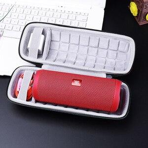 Image 5 - Taşınabilir Koruyucu Seyahat Taşıma EVA Depolama Sert Çanta Case anti şok Kapak Kılıfı için JBL Flip 3/Flip 4 hoparlör Aksesuarları