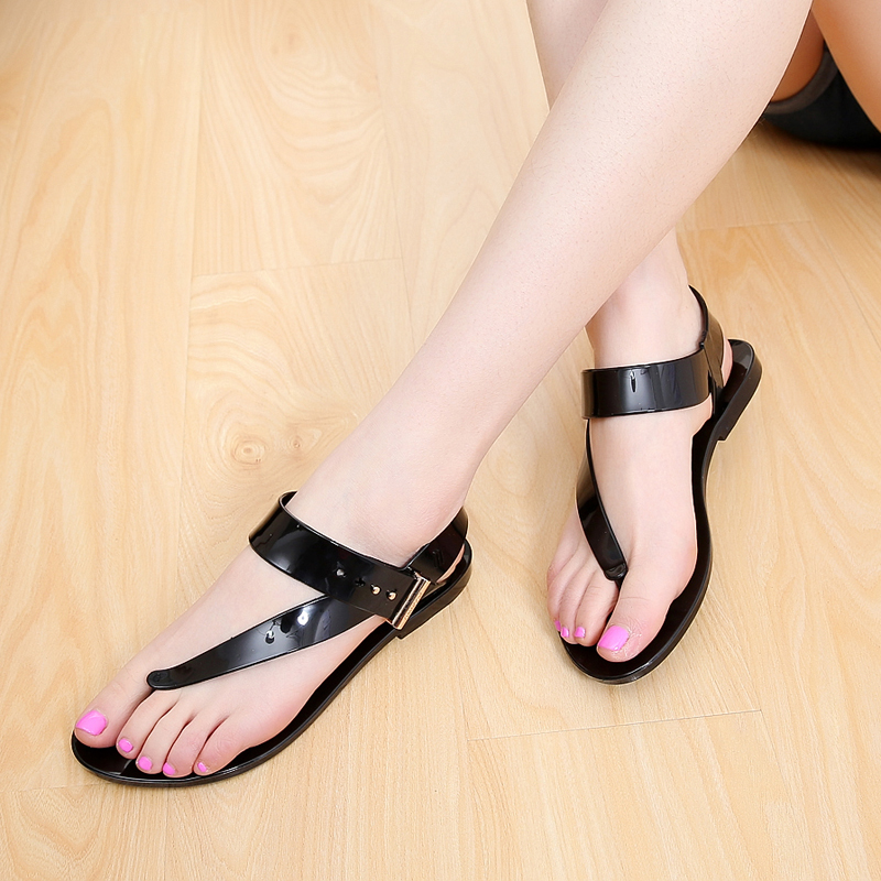 Summer Women Flat Sandals Casual Bohemia Ankle Strap Buckle Gladiator Shoes Beach Flip Flops STE1009 lucyever women vintage square toe flat summer sandals flock buckle casual shoes comfort ankle strap women footwear mujer zapatos