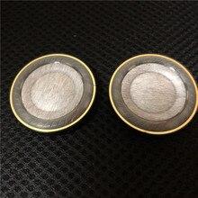 40mm unidade de alto falante para fone de ouvido diy excelente som composto micélio de carbono + tpu, peek diafragma anel cobre