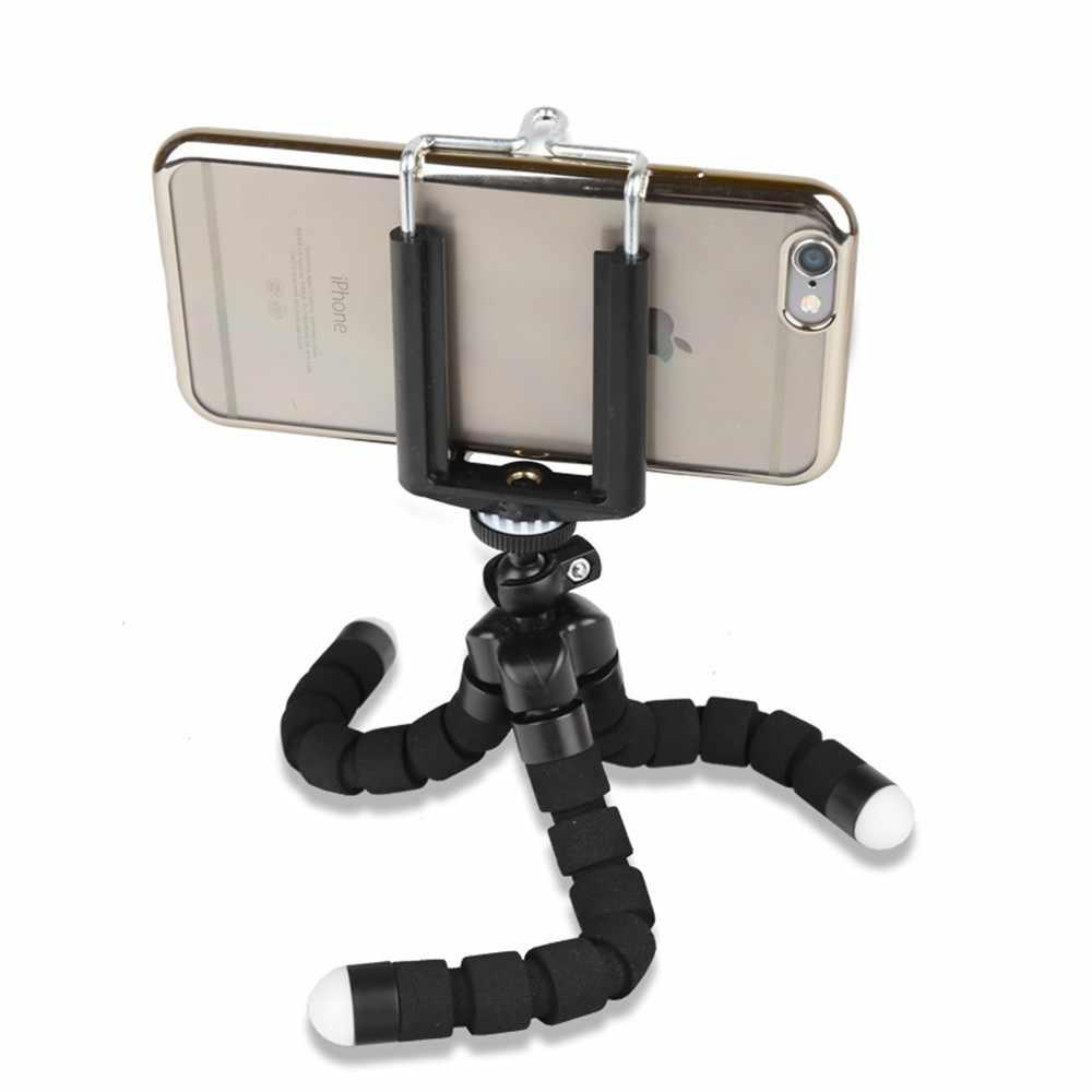 Мини Гибкая камера штатив Осьминог тренога для экшн-камеры GoPro Hero 4 3 + 3 2 для спортивной экшн-камеры Go pro Hero 5 SJ4000 спортивной экшн-камеры Xiaomi yi 4 k аксессуары