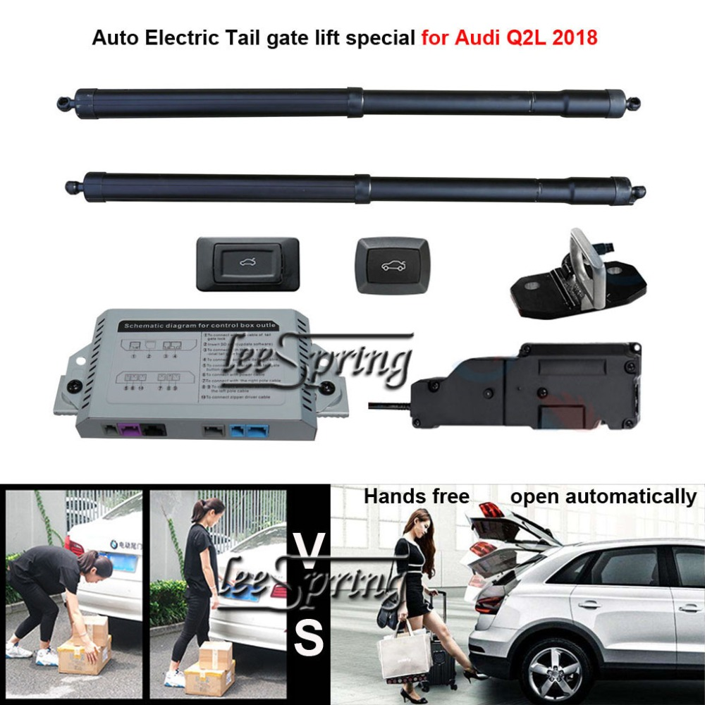Car Electric Tail Gate Lift Special For Audi Q2L 2018 Easily For You To Control Trunk