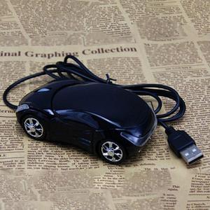 1600DPI форма мини-автомобиля USB оптическая проводная мышь, инновационная 2 фары, мышь для настольного компьютера, ноутбука, мыши, совершенно но...