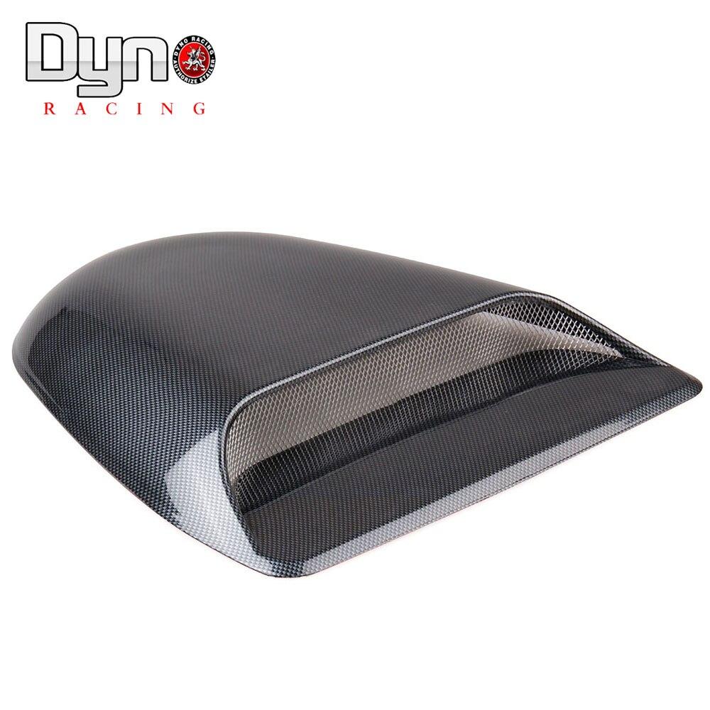 Dyno Universal Carbon Car Decorative Air Flow Intake Hood