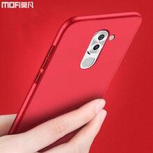 Huawei honor 6x cas huawei honor 6x cas de couverture pleine couverture protéger mofi ultra mince retour avant couvercle en verre huawei honor 6x cas