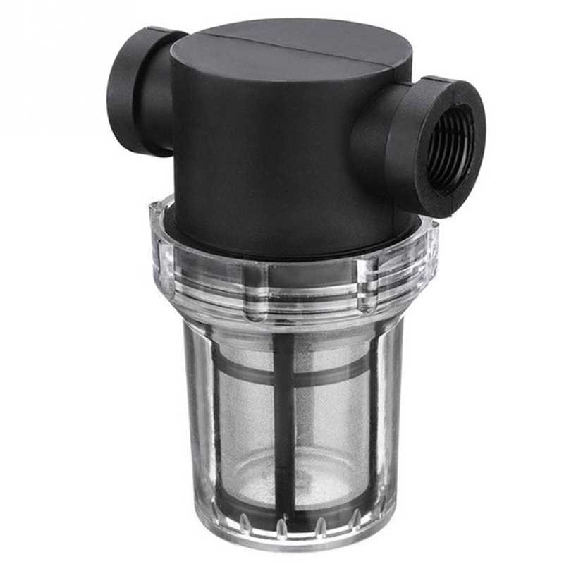 Садовый пруд встроенный сетчатый фильтр водяного насоса фильтр для орошения фильтр с Трубопроводом