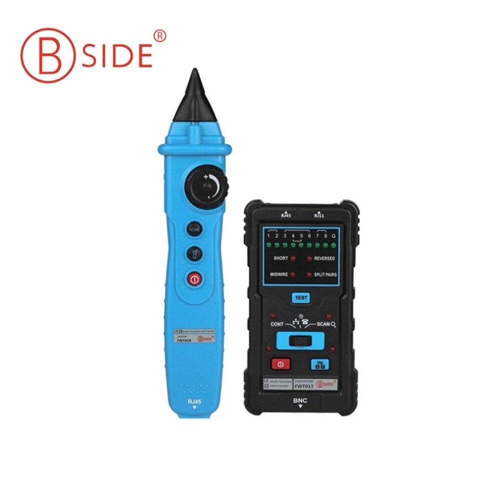 BSIDE fwt01 Провода трекер Многофункциональный ручной сети LAN Ethernet Finder метр телефонной линии кабель тестирования инструмент