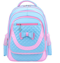 2016 New Arrival Nylon Girls Plaid Leather Backpack Softback School bag Japan And Korean Style Soft Handle Bac  Mochila