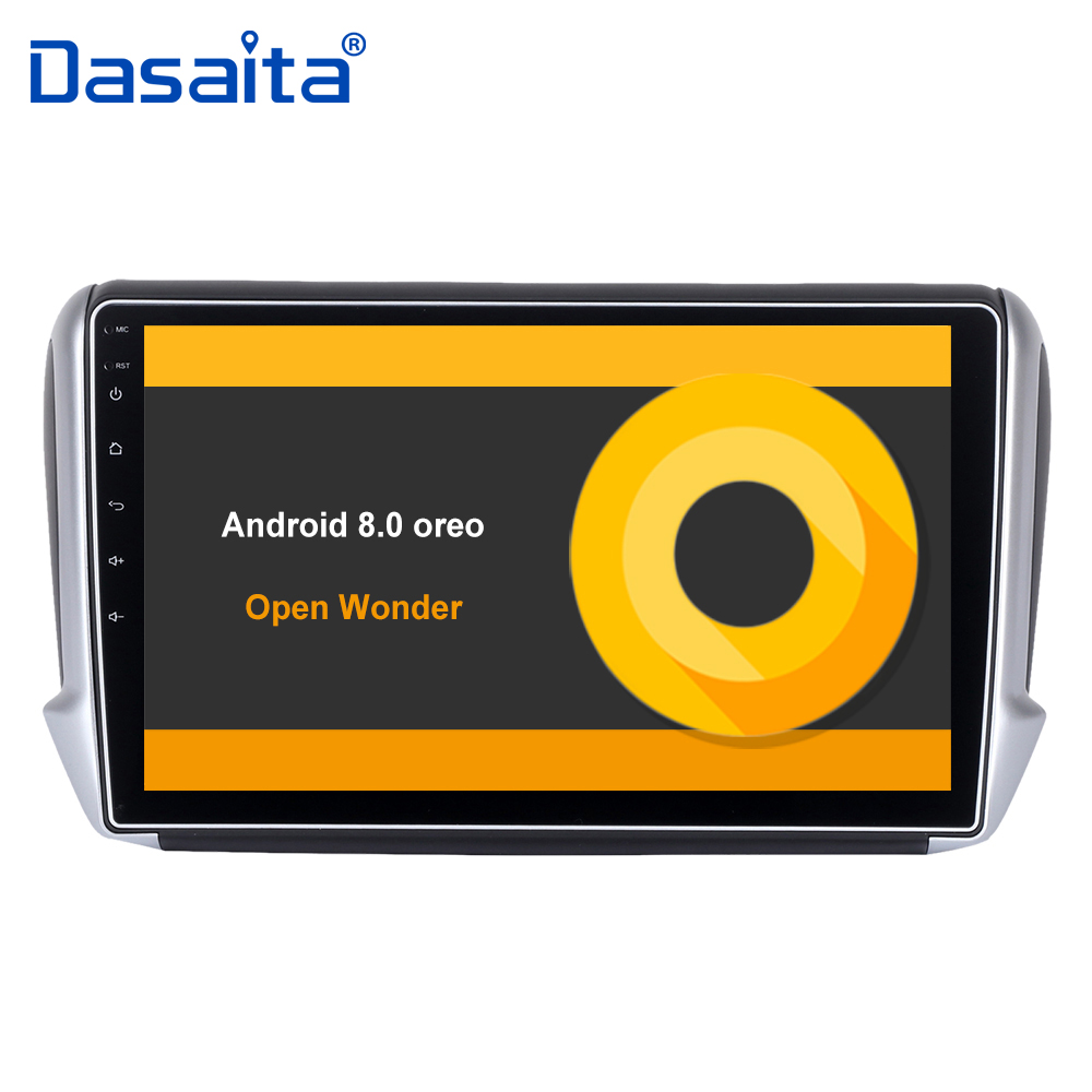 10 2 HD Digital Screen Android 8 0 Car GPS Player for Peugeot 208 2008 with