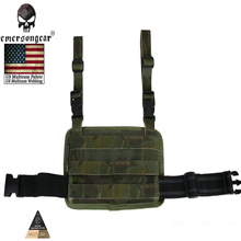 Emersongear Modular Rife Leg Panel Accessory Bag Tactical Military Combat