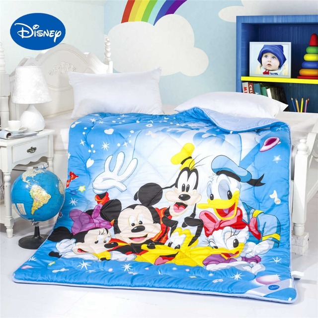 Mickey Minnie Maus Donald Duck Goofy Bettdecken Disney Charakter