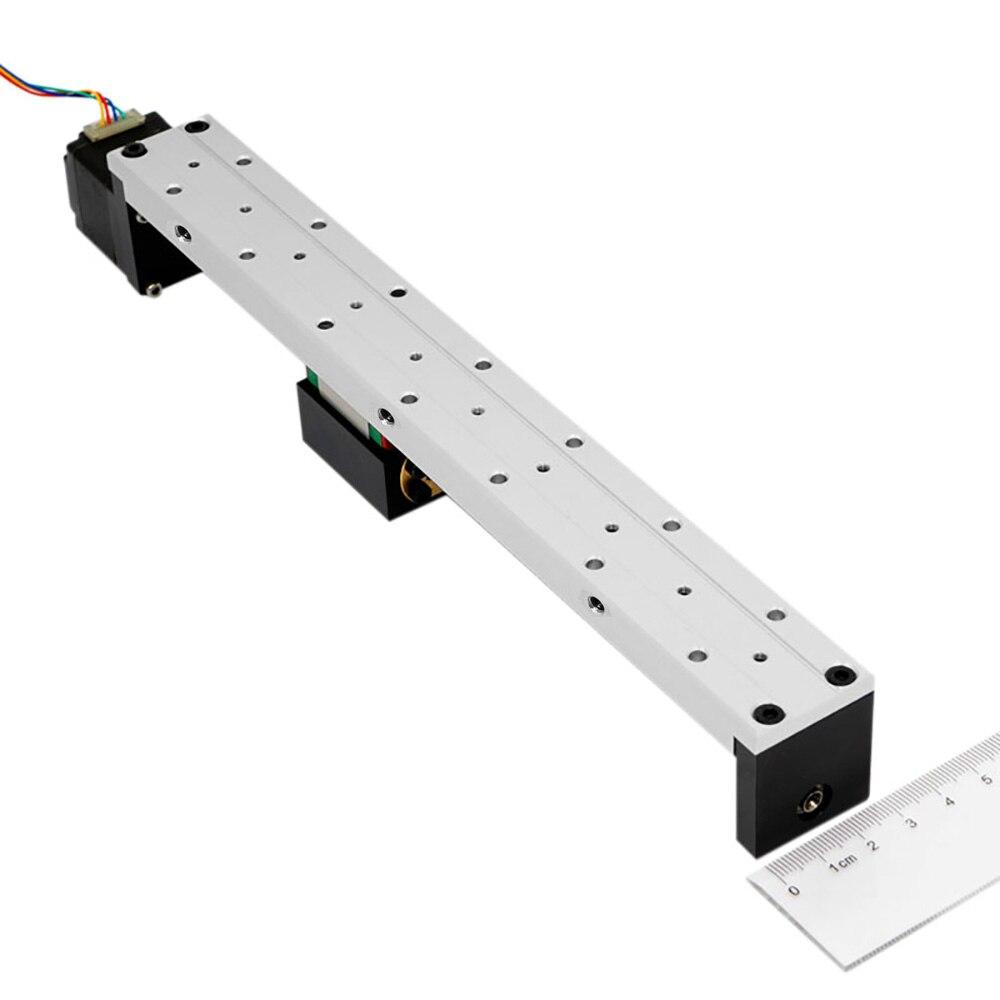 Mini Guide linéaire glissière Rail CNC petit actionneur de scène vis plomb système de Table de mouvement Nema 11 Robot partie Motorzied moteur pas à pas - 6