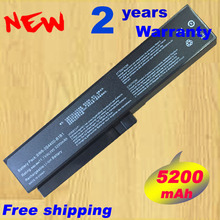 Free 5200mAh laptop Battery for LG R410 R510 R560 SQU-804/80