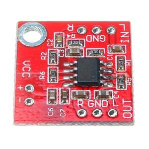 Image 4 - LEORY 3V 6V TDA1308 נמוך עיוות אוזניות מגבר AMP לוח מראש מגבר