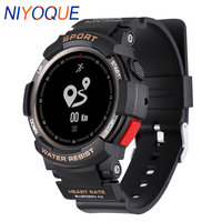 NIYOQUE Outdoor Smart Watch Waterproof Bluetooth 4.0 Sleep Monitor Remote Camera GPS Sports F6 Smart Band For IOS Android Phone