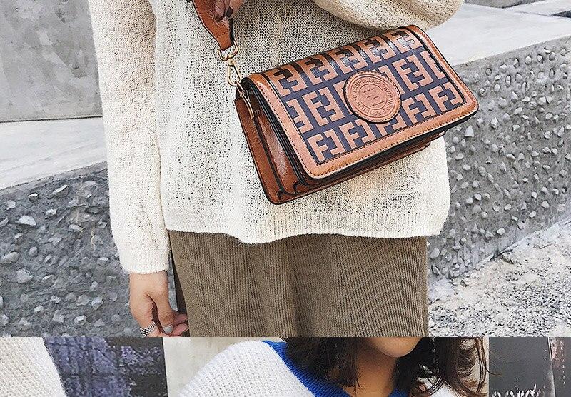 2019 Sac Femme Luxury Handbags Women Bags Designer Leather Crossbody Bag For Women Shoulder Bag Ladies Messenger Bags Letter (7)