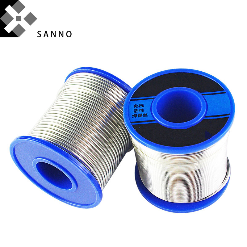 99.9% Purity Sn Metal Tin Wire Diameter 0.6mm - 3.0mm Length 3m -5m Tin Solder Lead-free Solder Wire For Scientific Research
