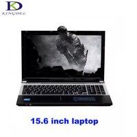 15.6 inch Intel Core i7 CPU 8GB RAM+256GB SSD+1000GB HDD Built in WIFI Bluetooth DVD ROM Windows 7/10 Laptop Notebook Computer