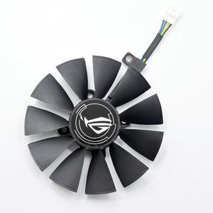 Image 2 - For ASUS Strix GTX 1060 OC 1070 1080 GTX 1080Ti RX 480 T129215SU 87MM Graphics Card Cooler Fan