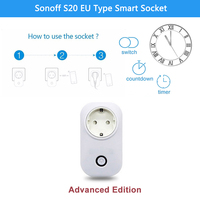 Sonoff S20 EU Type E Phone Wifi Wireless Remote Control Smart Home Charging Adapter Power Socket
