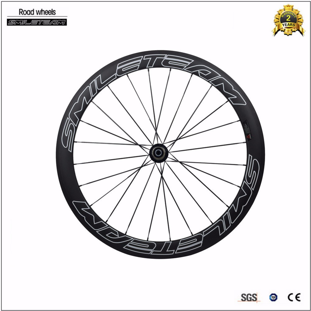 Smileteam New Brand Clincher Full carbon wheels 50mm Carbon Bicycle Wheels 2 Year Warranty Racing Wheelset Best Selling new original xs7c1a1dbm8 xs7c1a1dbm8c warranty for two year