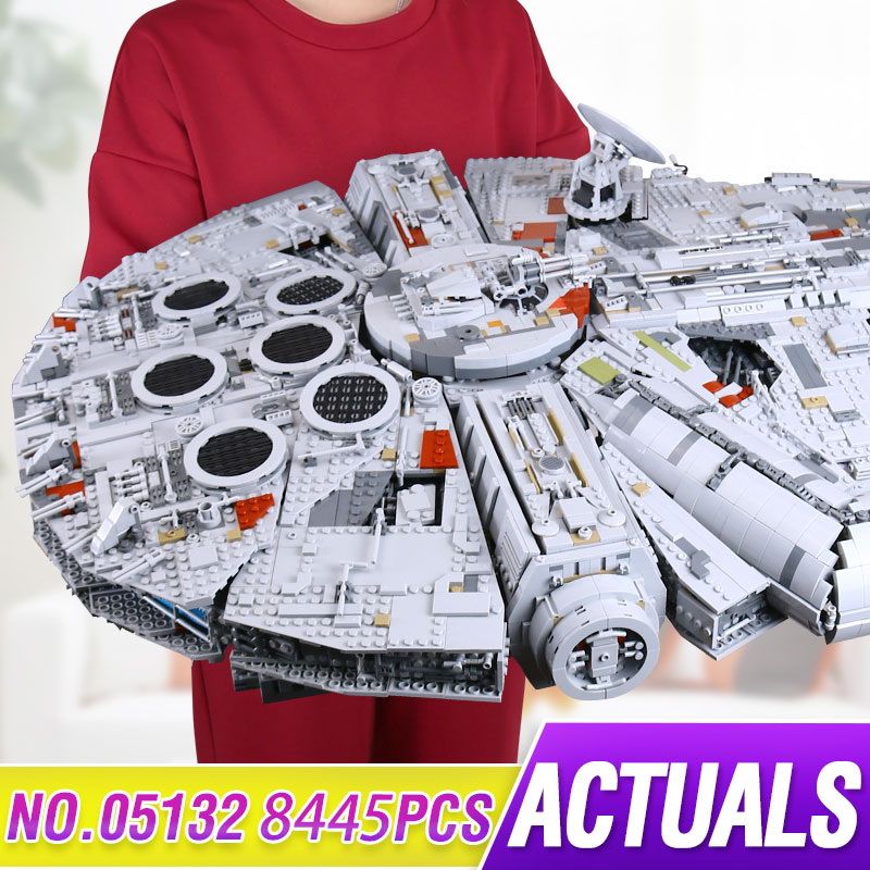 LEPIN 05132 7541Pcs Ultimate Collector's Model Destroyer Star Series Wars Building Blocks Bricks Children Toys with legoed 75192 lepin 05028 3208pcs star wars building blocks imperial star destroyer model action bricks toys compatible legoed 75055