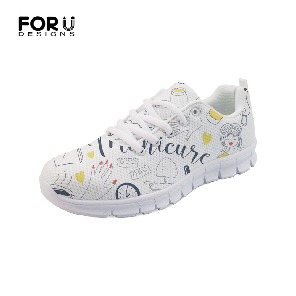 FORUDESIGNS Flats Women Sneakers Fashion Nail Polish Brand Designer Spring Summer Mesh Comfortable Mesh Ladies Shoes Woman 2019 FORUDESIGNS Flats Women Sneakers Fashion Nail Polish Brand Designer Spring Summer Mesh Comfortable Mesh Ladies Shoes Woman 2019