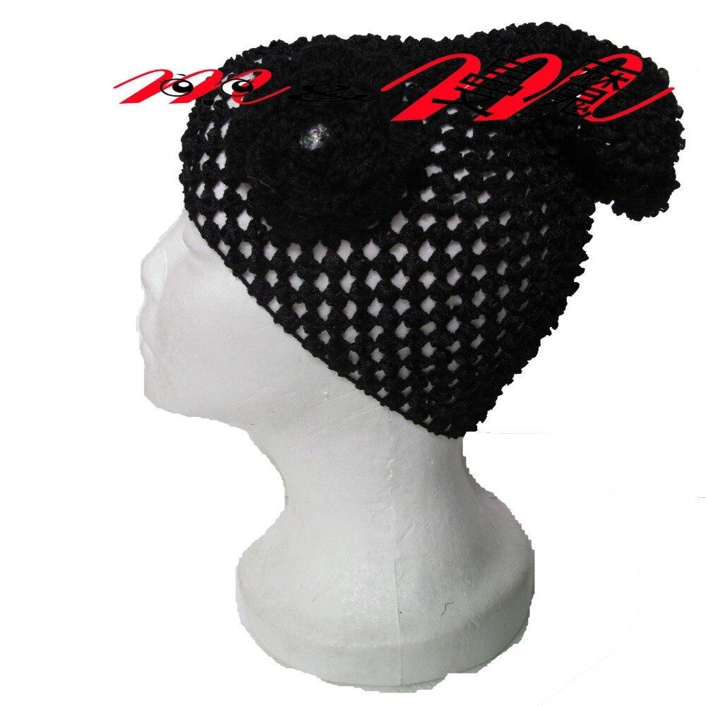 ▽Casquillo del ganchillo bailarina sombrero del casquillo con la ...