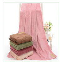 330g 140x70cm Cotton Towel Set Solid Color Luxury Bath Towel For Adults Face Towel High Absorbent