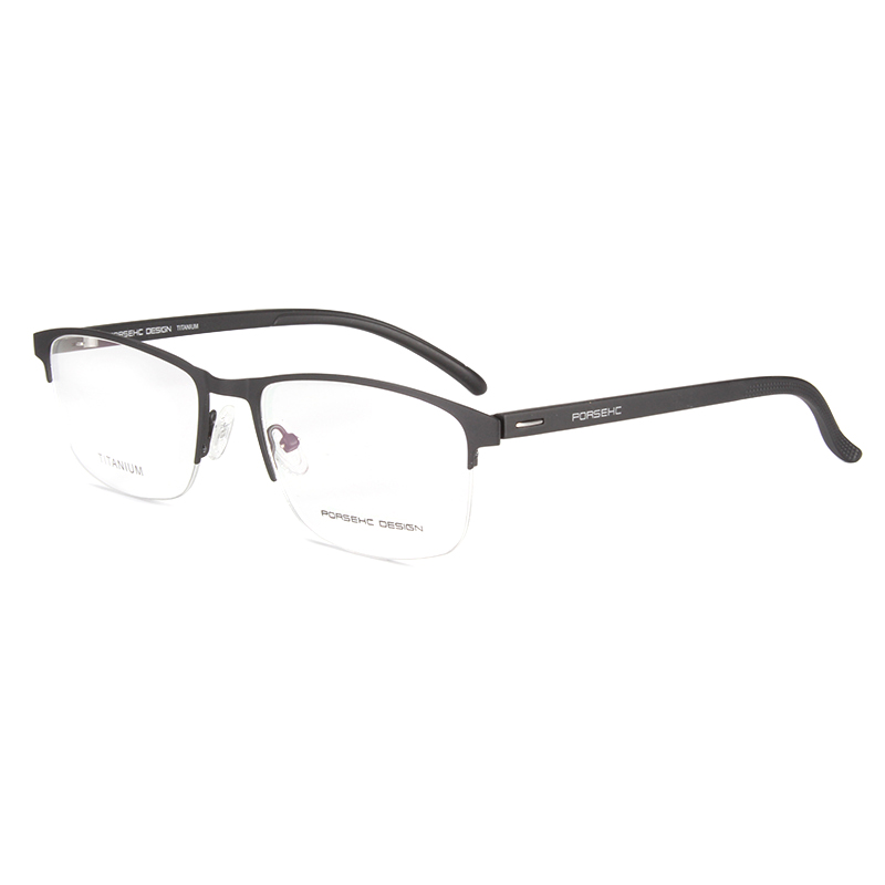 Handoer Business Optical Glasses Frame Half Rim for Men Eyewear Spectacles Prescription P9225