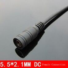 1 шт. 5.5×2.1 DC Женский соединение для Мониторы Мощность Провода adapterr шин переходник 385 370 насос