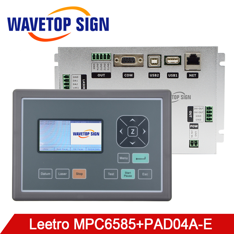 WaveTopSign Leetro MPC6585 Laser Controller DSP Motion Control System Board Motherboard